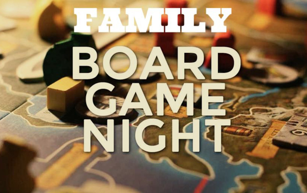 Join us for Pizza and Board Games