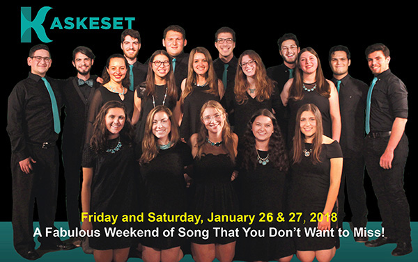 An A Capella Weekend You Don't Want to Miss!