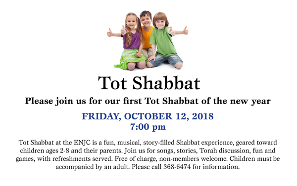 Your kids will love Tot Shabbat!