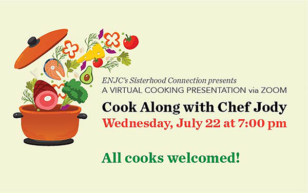Sisterhood Connection Virtual Cooking Program